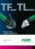 Air cutters for fiberglass and metal sheet - 1