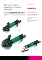 Air cutters for fiberglass and metal sheet - 2