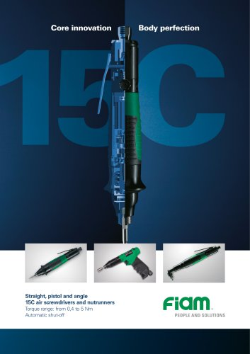 Air screwdrivers 15C