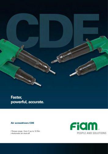 Air screwdrivers CDE