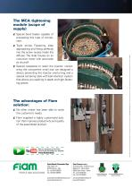 Fasten automatically injectors on gas diffusers - 2