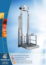 Processing hydraulic platforms