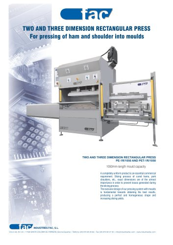 TWO AND THREE DIMENSION RECTANGULAR PRESS