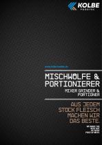 MIXER GRINDER & PORTIONER