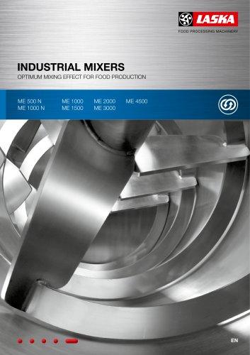 LASKA Industrial mixers
