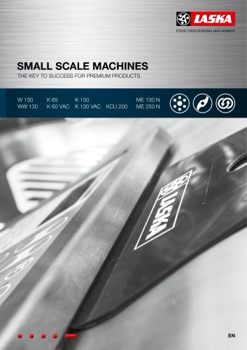 Small scale machines
