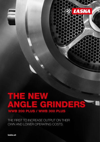 THE NEW ANGLE GRINDERS