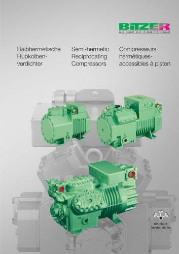 Semi-hermetic Recip  Compressors KP-100-6 - BITZER - PDF