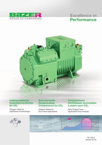 Semi-hermetic Reciprocating Compressors for CO2 - Octagon