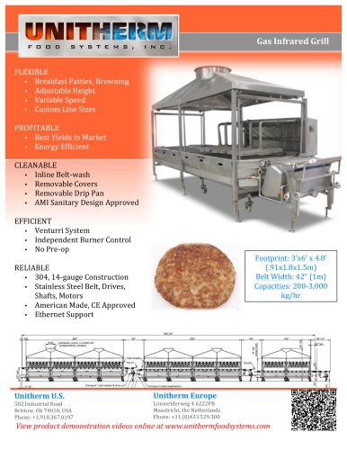 Gas Infrared Cooker