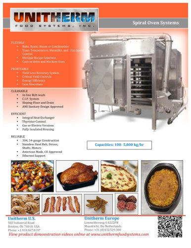 Spiral Oven Systems