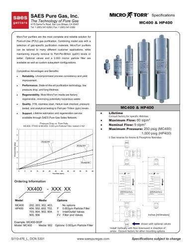 MC400 / HP400