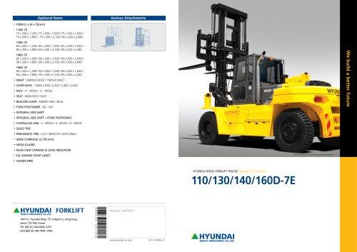 Diesel Forklifts 110D-7E