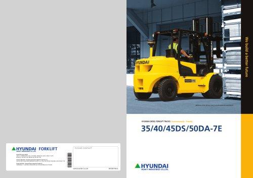 Diesel Forklifts 35DS-7E