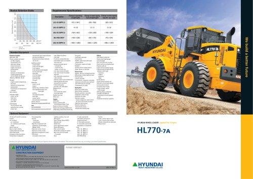 HL770 Series
