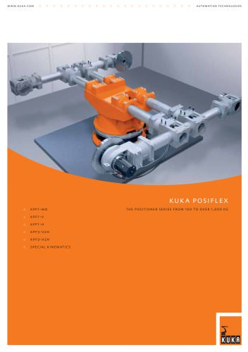KUKA Posiflex (The positioner series from 100 to over 1000 kg)