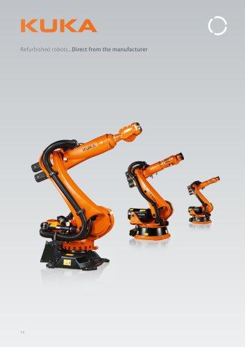 KUKA refurbished robots