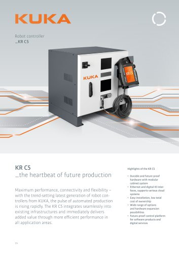 KUKA robot controller KR C5