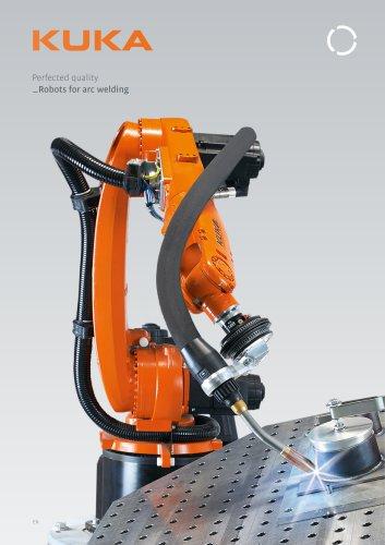 KUKA robots for arc welding
