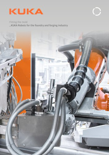 KUKA robots for the foundry and forging industry