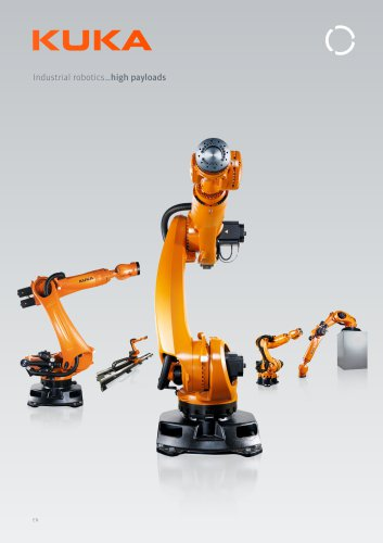 KUKA robots for high payloads from 90 kg to 300 kg