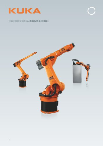 KUKA robots for medium payloads from 30 kg to 60 kg