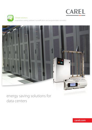 energy saving solutions for data centers