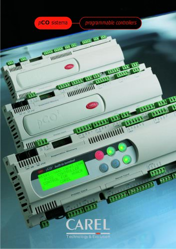 pCO sistema programmable controllers