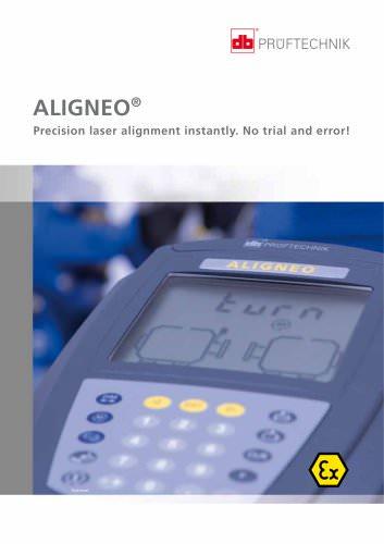 ALIGNEO EX - Precision laser alignment instantly. No trial and error!