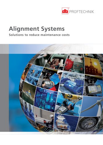 Alignment Systems - Solutions to reduce maintenance costs