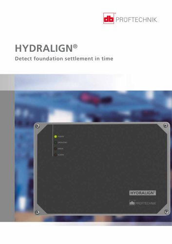 HYDRALIGN - Detect foundation settlement in time