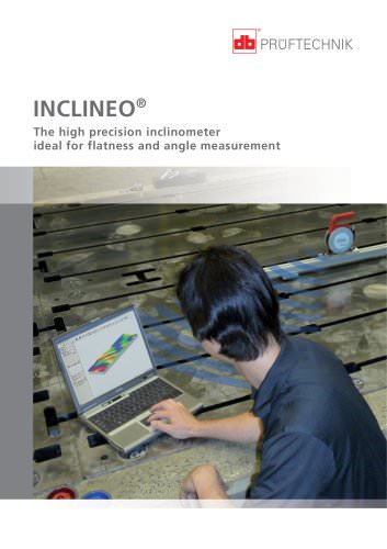 INCLINEO - The high precision inclinometer ideal for flatness and angle measurement