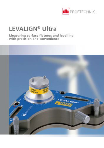 LEVALIGN Ultra - Measuring surface flatness and levelling with precision and convenience