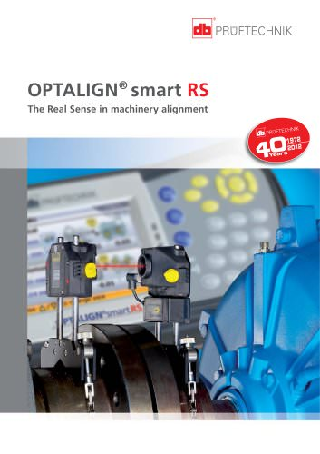 OPTALIGN smart RS - The Real Sense in machinery alignment
