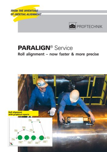 PARALIGN Service Roll alignment - now faster & more precise