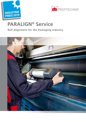 PARALIGN Service - Roll Alignment for the Packaging Industry