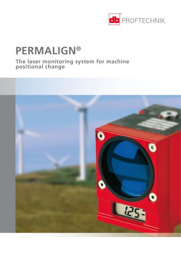 PERMALIGN - The laser monitoring system for machine positional change