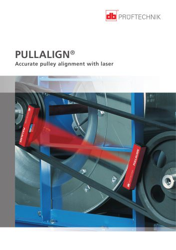 PULLALIGN - Accurate pulley alignment with laser