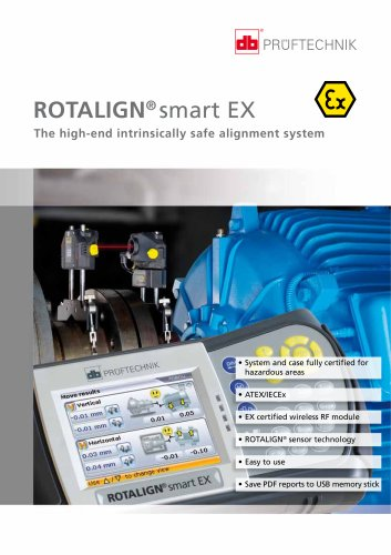 ROTALIGN smart EX - The high-end intrinsically safe alignment system