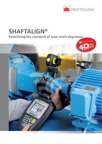 SHAFTALIGN - Redefining the standard of laser shaft alignment