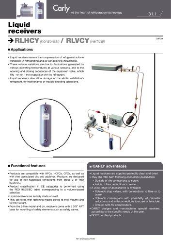 Liquid receivers