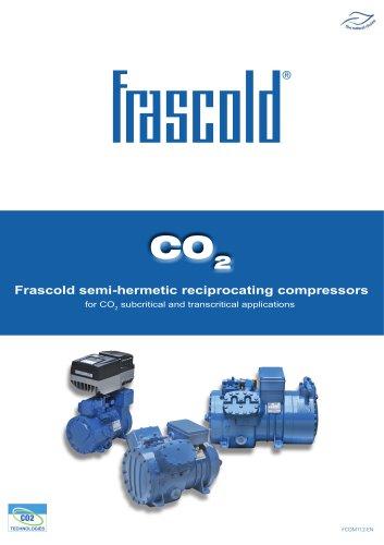 CO2 - Frascold semi-hermetic reciprocating compressors