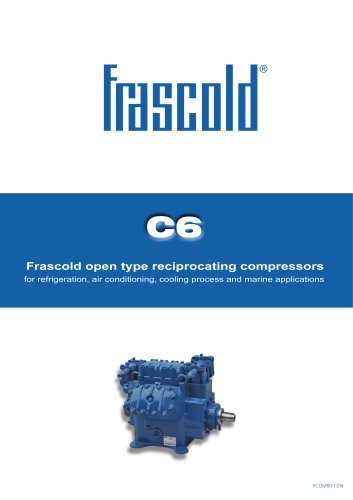 Frascold open type reciprocating compressors
