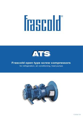 Frascold open type screw compressors