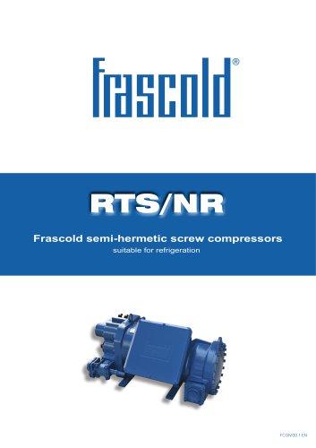 Frascold semi-hermetic screw compressors