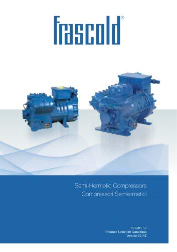 Reciprocating semi-hermetic compressors  FCAT01