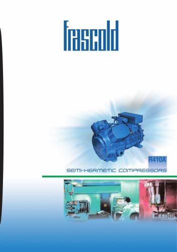 Semi-hermetic compressors 50 Hz for refrigerant R410a