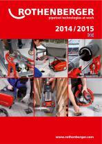 ROTHENBERGER Catalogue 2014/15