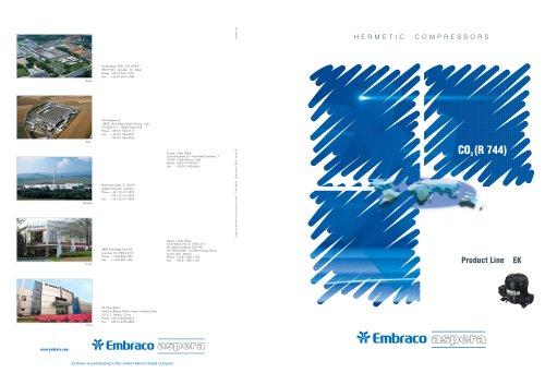 EK Product Line for CO2 (R 744)