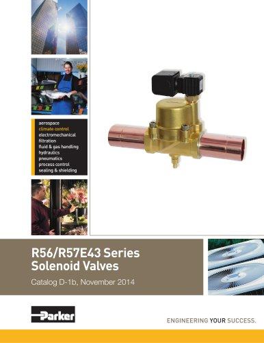 R56/R57E43 Series Solenoid Valves